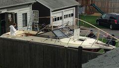 Ukrýval se v ní zraněný Carnajev. Loď se stala atrakcí