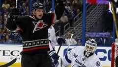 Tlustý dal dvě branky a poprvé v NHL překonal hranici 20 gólů