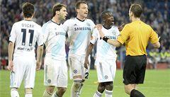 Sudí Královec naštval hvězdy Chelsea. Odpískal spornou penaltu