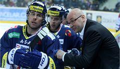 Hokejový Liberec odvolal trenéra Hynka, jeho nástupcem se stal Čada
