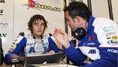Abraham se po zranění chystá závodit už v Jerezu