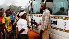 Toulavý autobus pomáhá africkým dětem ke vzdělání