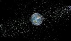 Vesmírné smetí. Kolem Země poletují zbytky raket i satelitů