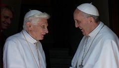 Benedikt: Charisma Františka mě utvrzuje ve správnosti odchodu