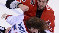 VIDEO: Hokejová Ottawa v duelu plném bitek rozstřílela Montreal