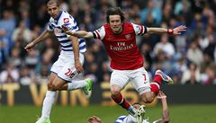 Zraněný Rosický by se příští týden měl vrátit do přípravy Arsenalu