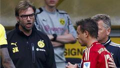 Fauly, hádky a napětí. Přenesou Němci emoce i do finále Ligy mistrů?