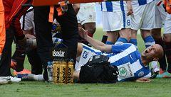 Kweuke zlomil nohu Dosoudilovi. Dostal rekordní trest na 12 zápasů