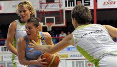 Basketbalistky USK Praha získaly potřetí za sebou ligový titul