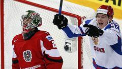 Hokejisté Rakouska prohráli s Ruskem 4:8 a sestupují