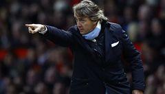 Manchester City letos nic nevyhrál a propustil kouče Manciniho