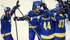 Švédové porazili Finy 3:0 a po dvou letech si zahrají na MS o zlato
