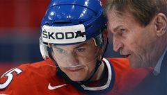 Hudler: Doufám, že se proti Kanadě už vyhecujeme