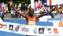 Pražský maraton vyhrál Kemboi z Kataru, rekord odolal