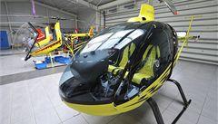 Auta stojí, vrtulníky letí. Oprava D1 zvýšila zájem o malé helikoptéry