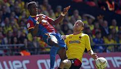 Vydra a Pudil s Watfordem v boji o postup do Premier League neuspěli