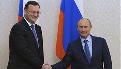 Putin lichotil Nečasovi. Spolupráci s Českem 'přikládá velký důraz'