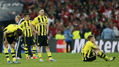 Soupeř byl lepší, uznali po finále LM zklamaní hráči Dortmundu