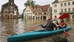Přívalová vlna z Česka míří do Drážďan, povodeň očekává i Vídeň