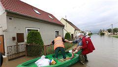 Na vytopené se už sešlo 15 milionů korun, vlna odtéká do Německa
