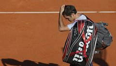 Federer v Paříží končí. Už se těším na Wimbledon, říká smutná legenda