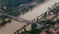 Severu Čech, Plzeňskému a Jihočeském kraji hrozí povodně