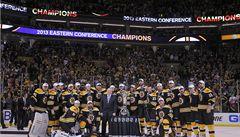 Jágr a Krejčí jsou s Bostonem ve finále Stanley Cupu