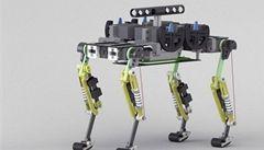Vědci představili malého robota, který běhá jako kočka