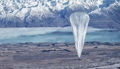Google chce zpřístupnit internet celému světu. Pomocí balonů