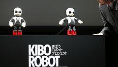 Přál bych si k Vánocům raketu, svěřil se robot Kirobo z ISS