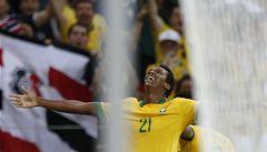 Brazílie porazila na Poháru FIFA Mexiko 2:0 a nakročila k postupu