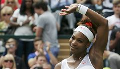 Serena Williamsová začala obhajobu ve Wimbledonu rychlou výhrou