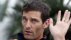 Webber opustí po sezoně formuli 1, bude jezdit okruhy za Porsche
