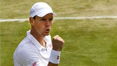 Berdych a Zakopalová postoupili ve Wimbledonu do 3. kola