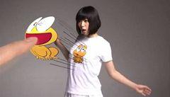 Japonci vymysleli tričko, které si 'umí hrát'