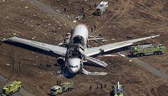 V San Francisku havaroval Boeing 777. Dva mrtví, 181 zraněných