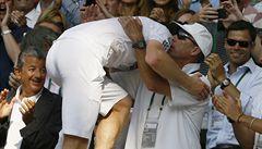 Murray dojal Lendla. Po triumfu ve Wimbledonu kouče vyzdvihoval