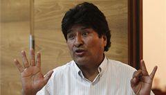 Morales se po problémech kvůli Snowdenovi vrátil do Bolívie