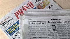 Lukačovičův Seznam koupil třetinu vydavatele Práva a serveru Novinky