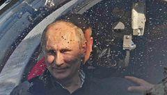 Putin se zase potápěl, tentokrát našel fregatu