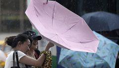 Tchaj-wan zavřel školy a úřady. K ostrovu se blíží tajfun