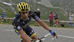 Contador dojel v časovce druhý a zajistil si celkové vítězství v Baskicku