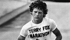 Před 55 lety se narodil bojovník proti rakovině Terry Fox