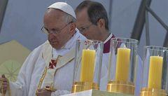 Papež v Riu: podpora mladých, solidarita s protesty a kněží do ulic