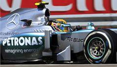 Hamilton znovu ovládl kvalifikaci formule 1. Už počtvrté za sebou