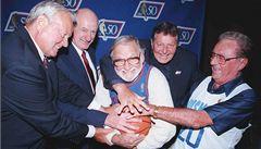 Autor prvního koše v historii NBA