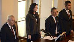 Skandální, reagovala Němcová na Zemana. Chce omezit prezidentské pravomoci