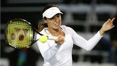 Hingisová se vrátila k tenisu. Ve čtyřhře s Hantuchovou vyhrála