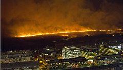Požár poničil ekologickou rezervaci v argentinském Buenos Aires