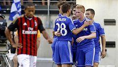 Chelsea s kapitánem Čechem přehrála v USA AC Milán